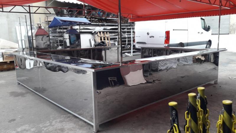 Barraca de Inox para Feira em Cotia - Barraca de Hot Dog para Vender