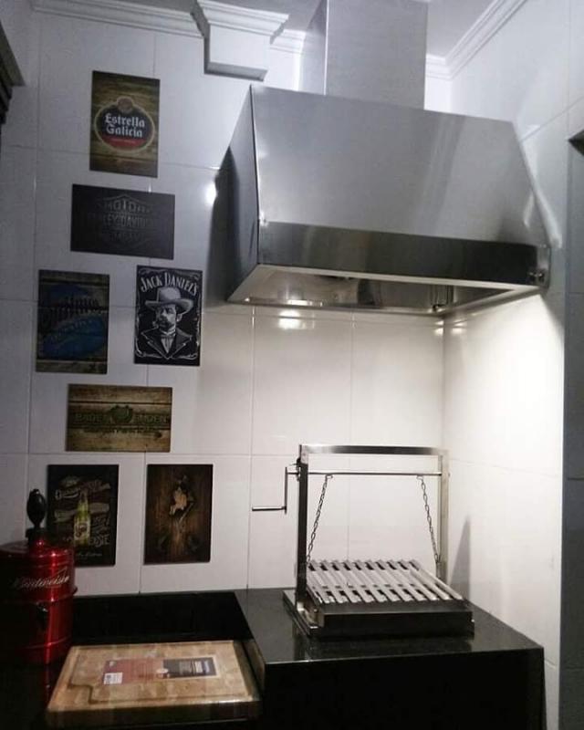 Coifa de Inox para Cozinha Industrial em Carapicuíba - Coifas de Inox sob Medida para Cozinha