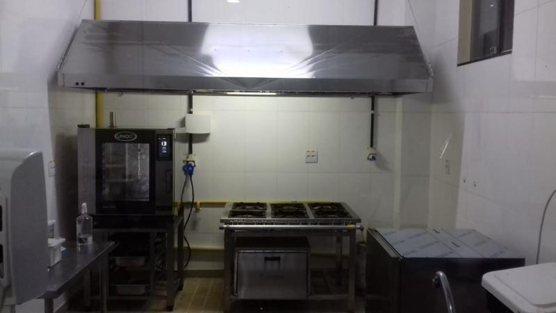 Coifa de Inox para Lanchonete em Francisco Morato - Coifas de Inox sob Medida para Cozinha
