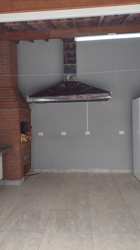 Coifas em Aço Galvanizados em Embu das Artes - Coifa de Inox Industrial