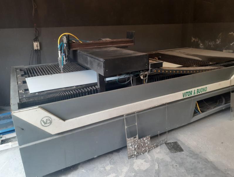 Corte a Laser de Aço Inox em Suzano - Corte a Laser de Metal