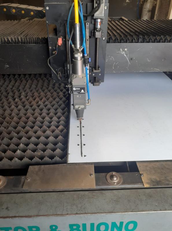 Corte a Laser em Aço Carbono em Juquitiba - Corte a Laser de Aço Inox