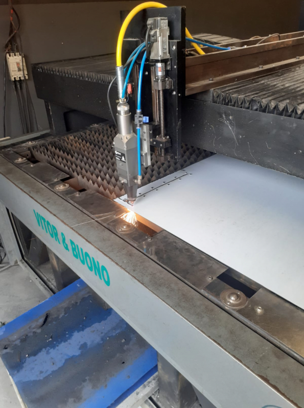 Corte a Laser em Aço em São Bernardo do Campo - Corte a Laser em Aço Carbono