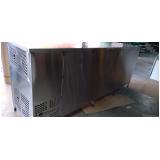 balcão de inox refrigerado em Santo André