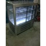 balcões de inox refrigerados para alimentos em Cajamar
