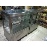 balcão de inox refrigerado para doces
