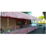 barraca de inox para feira personalizada em Guararema