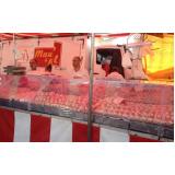 barraca de inox para peixe em Caieiras