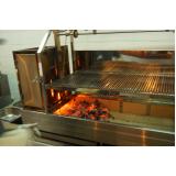 churrasqueira para hambúrguer profissional São Bernardo do Campo