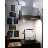 coifa de inox para cozinha industrial em Franco da Rocha