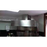 coifa em aço inox para cozinha em Caieiras