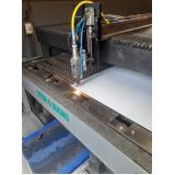 corte a laser em aço em São Bernardo do Campo