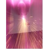 corte a laser de inox