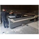 corte a laser em aço carbono