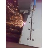 cortes a laser de aço inox em São Bernardo do Campo
