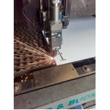 cortes a laser em aço em Ribeirão Pires