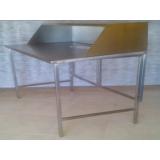 mesa de inox para açougue