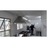 venda de coifa de inox para cozinha industrial em São Caetano do Sul