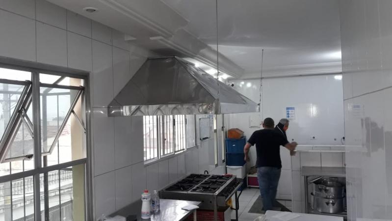 Venda de Coifa de Inox para Cozinha Industrial em Guarulhos - Coifas de Inox sob Medida para Cozinha